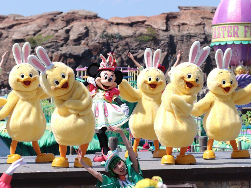 東京ディズニーシーにかわいい「うさピヨ」が増殖中!?「Tip-Topイースター」のみどころも大公開