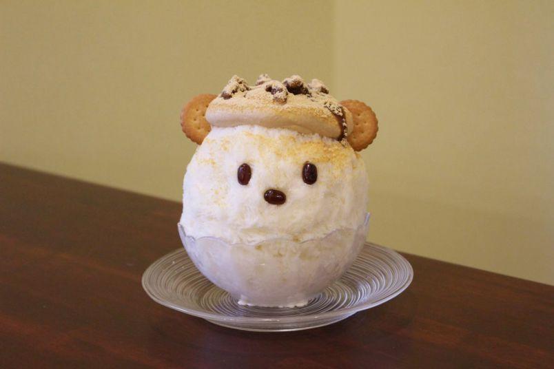 """""""味噌のクリーム""""に絶対驚く!不思議でかわいい絶品かき氷"""