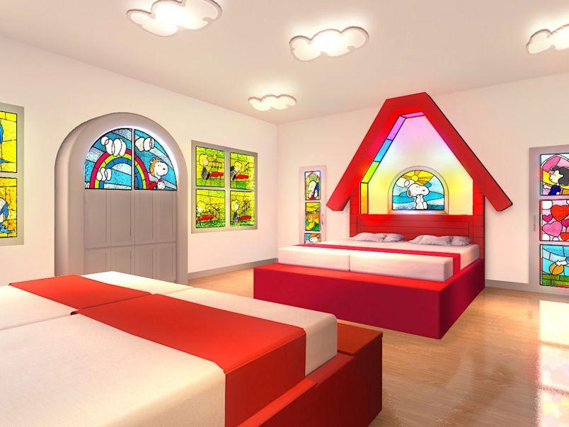 寝ても覚めてもスヌーピー‼ 最新USJ公式ホテルで夢の世界が続く!