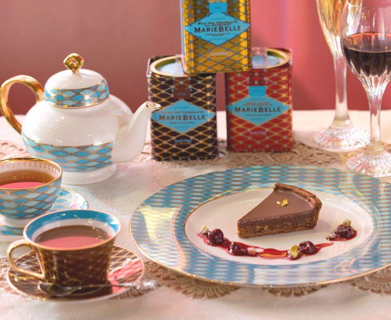 NYの人気チョコレート店「マリベル」がさらにラグジュアリーになって心斎橋大丸に登場!
