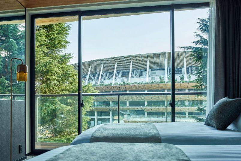 新国立競技場が目の前!緑に囲まれた都会のオアシス的ホテルがオープン