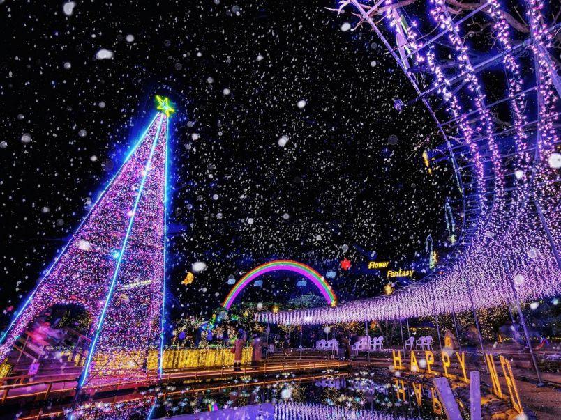 日本三大イルミあしかがフラワーパーク『Flower Fantasy~光の花の庭2019~』開催
