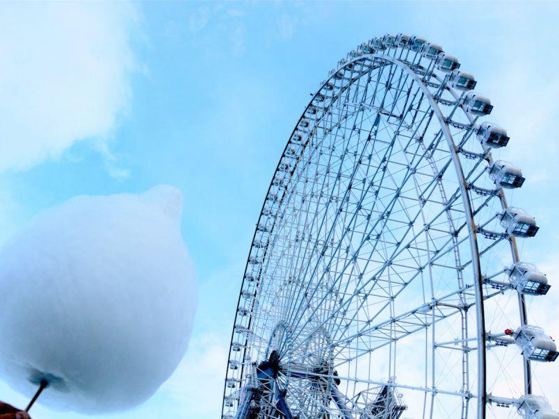 """日本一高い観覧車で""""雲""""を食べる?フォトジェニックな""""雲の丸かじり""""体験"""