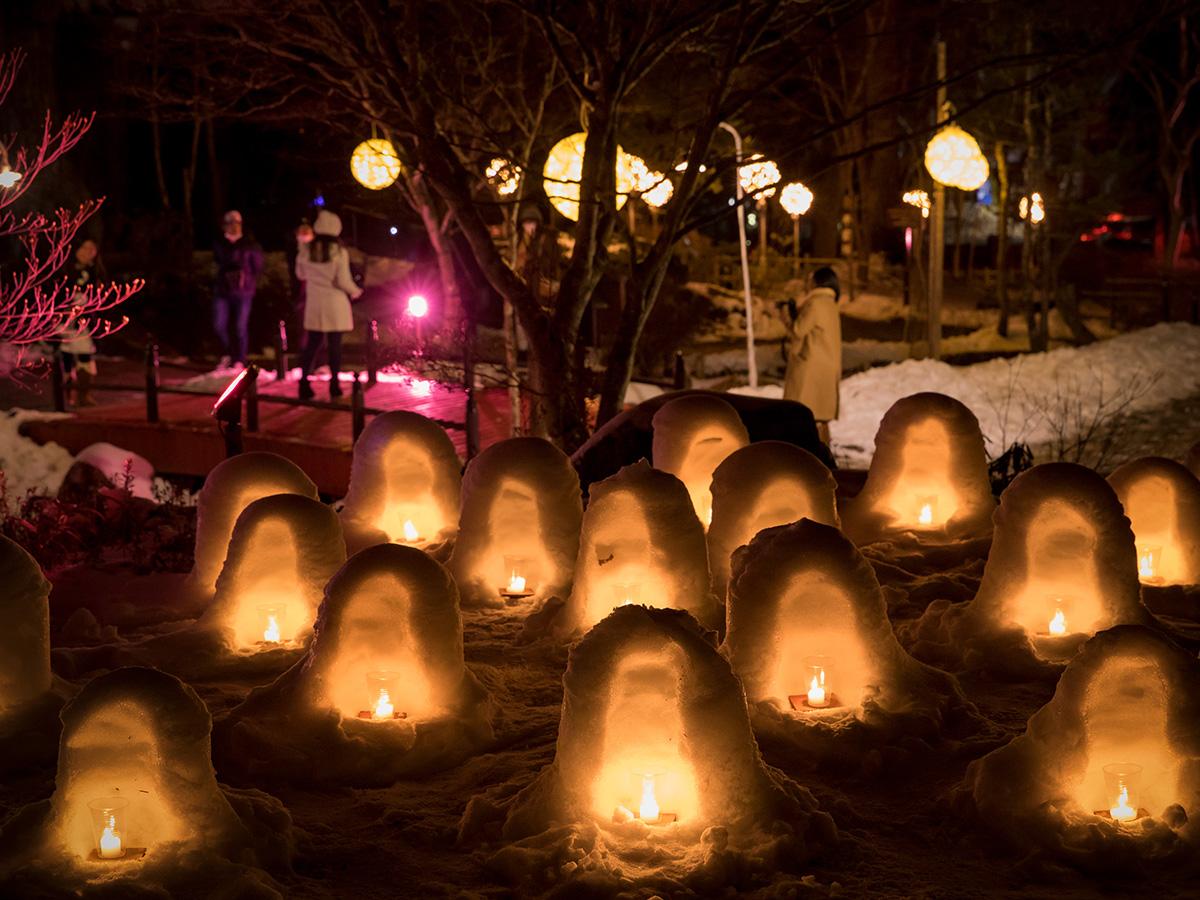 2020 湯西川 かまくら 祭り