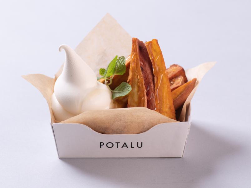 マツコも注目のサツマイモ、シルクスイートを使ったメニューがクラフトポテト専門店に登場!