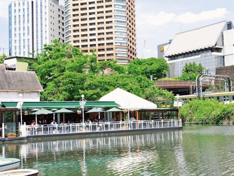 #いつか行きたい 天気の良い日は水辺でデート!神楽坂~市ケ谷のんびりおさんぽプラン