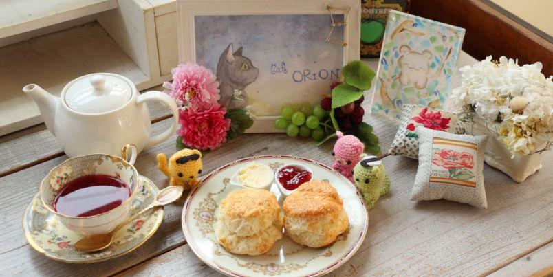 おひとり様が楽しい!スコーンがおいしい奈良の隠れ家カフェ