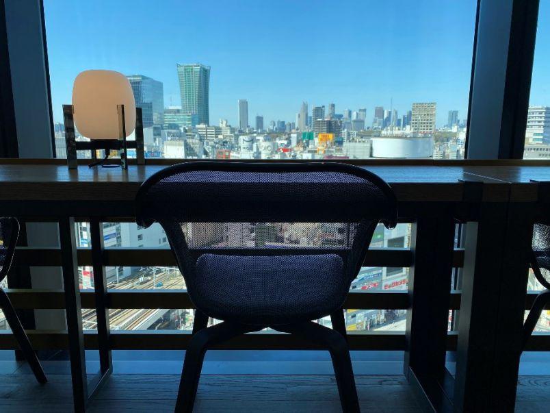 待望の再開!渋谷都会の絶景を眺めながら、至福のひとり時間が過ごせる「SHARE LOUNGE」