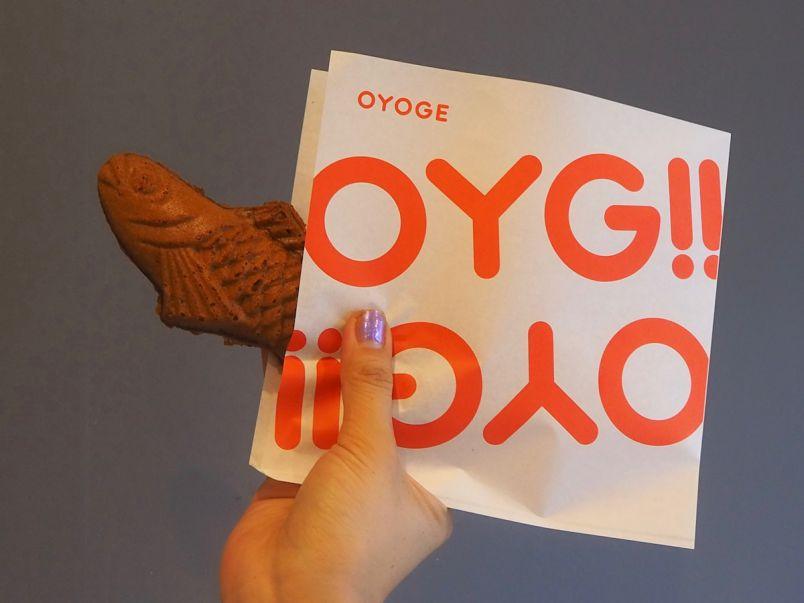 """たい焼き屋なのに「鯛がない」!?""""知らなきゃヤバい""""最先端の店「OYOGE」【六本木】"""