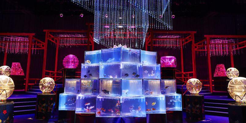 世界最多30000匹の金魚が泳ぐ!リアルな「アートアクアリウム美術館」が8月28日オープン