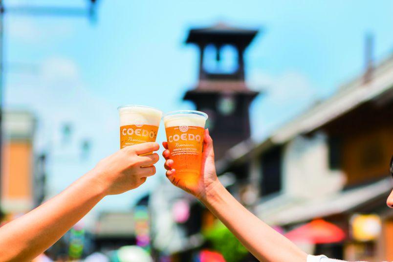 """川越で蔵街歩き!""""コエドビール×おいしいもの""""と名所めぐり"""