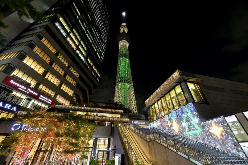 世界一高いクリスマスツリーが誕生!?「東京スカイツリータウン(R)ドリームクリスマス2020」開催