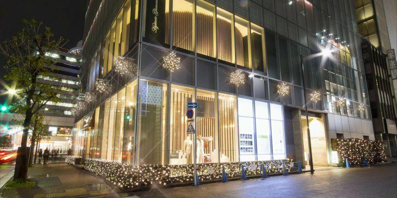 東京・銀座のイルミネーションはここ!「マロニエゲート銀座」 のイルミネーションが素敵!