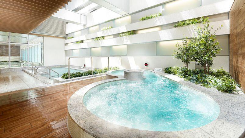 「泉天空の湯 有明ガーデン」は天然温泉が楽しめる最新施設!本格グルメも充実