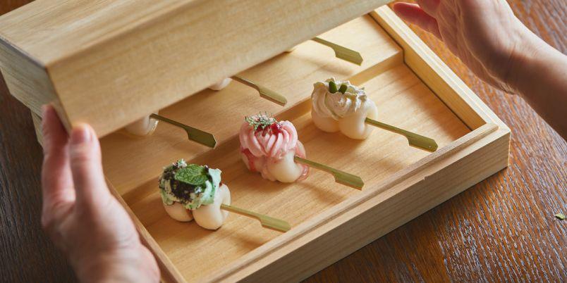 京都・祇園で出会った20秒の奇跡!『お団子とかき氷|茶寮和香菜』のみたらし団子とIRO-MOCHI-が絶品