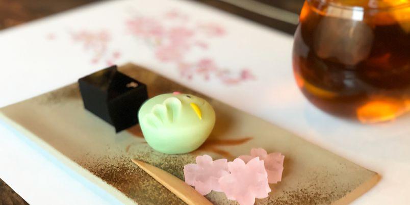 かわいい和菓子×お酒が絶品!オリジナル和菓子Bar「かんたんなゆめ 日本橋別邸」