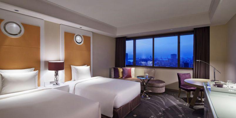 【東京マリオットホテル】1日あたり9000円台の30連泊プラン登場!品川の緑豊かなホテルで、ロングステイを