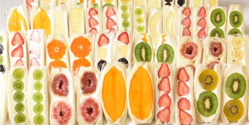 神戸・元町商店街にニューオープン!「Mr.Fruits(ミスターフルーツ)」で、きらきら輝く旬のフルーツサンドを