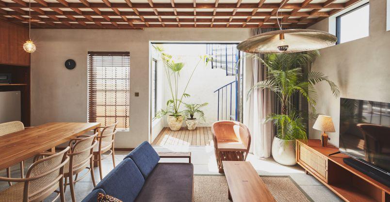 鎌倉材木座にリゾートハウスを1棟丸ごとレンタルできる貸別荘「THE FLOW KAMAKURA」がオープン