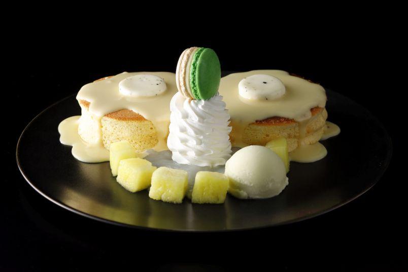 「ホテルニューオータニ」から極上メロンを使用した新作パンケーキが登場!
