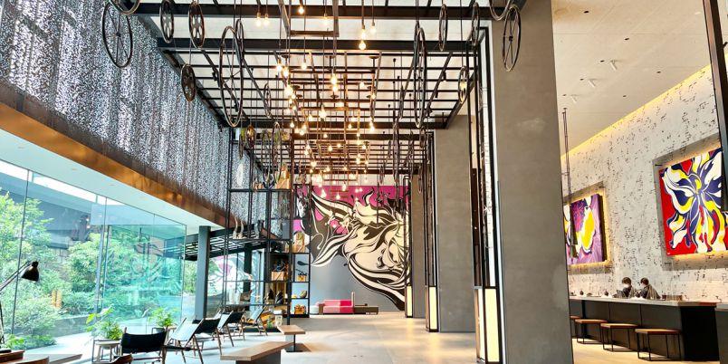 まるで美術館のような「東京ベイ潮見プリンスホテル」は、私たちのための穴場リゾート!