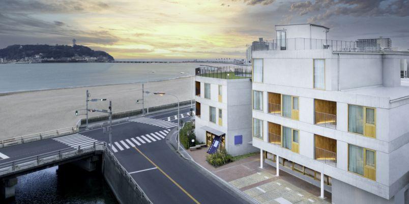 江の島を一望!鎌倉腰越の「HOTEL AO KAMAKURA」でシービューステイ