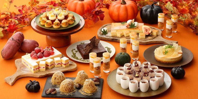 絞りたてモンブランも!秋の味覚「いも・栗・かぼちゃ」のブッフェが登場【名古屋プリンスホテル スカイタワー】