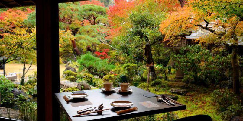 【京都】秋の紅葉ビューごはん。はんなり和食と景色を堪能!