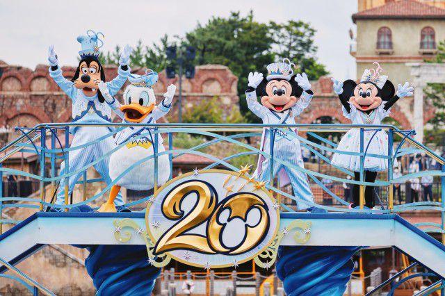 祝20周年!東京ディズニーシー「タイム・トゥ・シャイン!」いよいよ開催