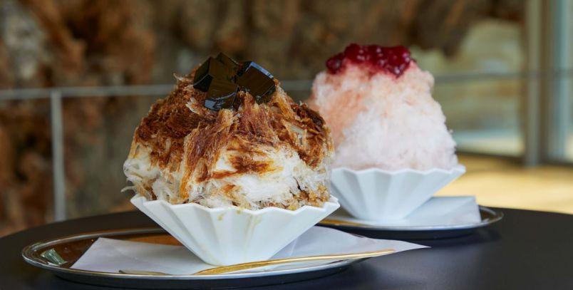 鎌倉・鶴岡八幡宮の美術館カフェへ!秋まで楽しめるコーヒー&ほうじ茶の天然かき氷