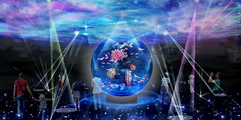 世界のどこにもない世界!神戸に新感覚の都市型アクアリウム「átoa」誕生