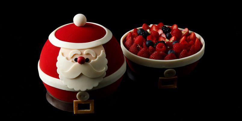 サンタクロースが、コロンとかわいいケーキに!「パレスホテル東京」2021年クリスマスケーキ&ブレット15選