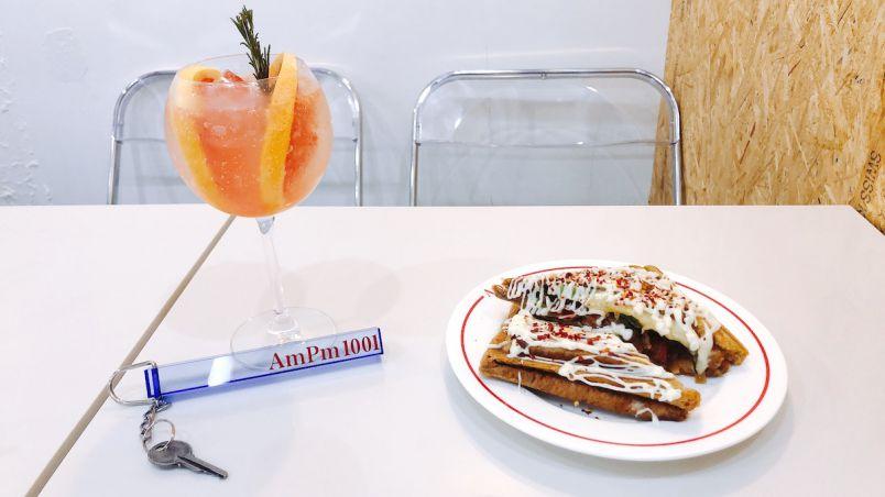 原宿の新しい映えスポット!韓国っぽカフェ「AmPm」の韓国屋台トーストに注目!