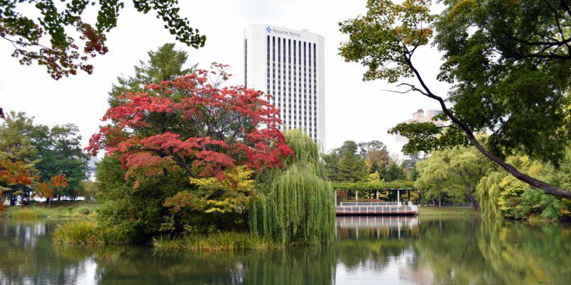 【札幌】すすきのエリアから徒歩圏内 「中島公園」の緑豊かな風景と水辺でウォーキングはいかが