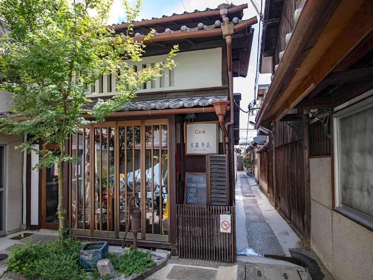 知らないとたどりつけない!秘密基地みたいな、京都の路地奥 ...