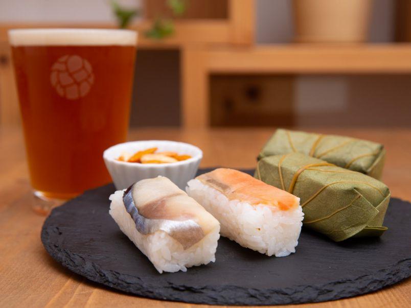 柿の葉寿司と相性ぴったり。限定味も注目の、奈良のできたてクラフトビール