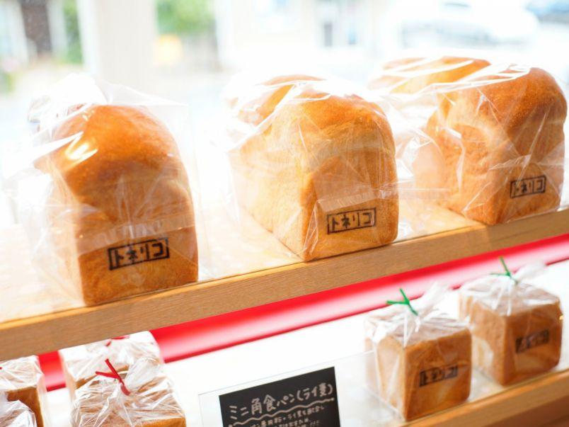 四角い食パンがかわいい!こだわりの自家製果実ジャムとも相性ぴったり