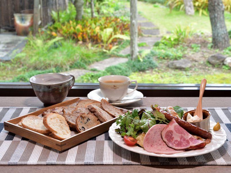日本家屋×本格派ドイツパン。 不思議なコンビネーションが生み出すおいしい時間
