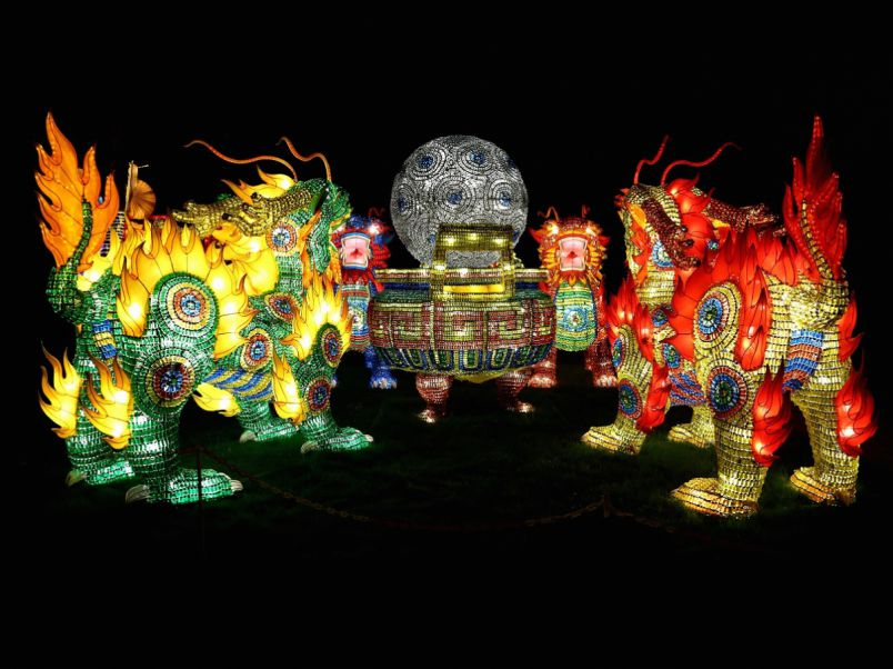 色鮮やかに灯るランタン!東京ドイツ村で日本初「チャイナランタンフェスティバル」開催