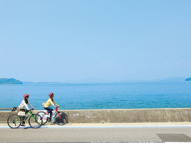 瀬戸の潮風をめいっぱい感じて!初めてでも楽しい爽快しまなみサイクリング
