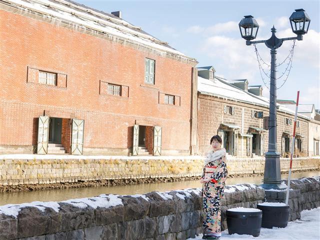 着物で小樽をそぞろ歩き。絵になる街をおしゃれに楽しむ女子旅のススメ